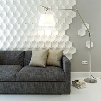 Купить гипсовые 3D панели для стен в Ровно