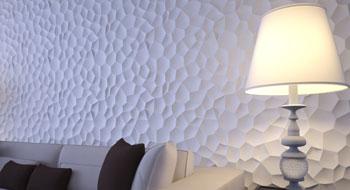 Купить гипсовые 3D панели для стен в Полтаве